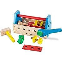 Melissa & Doug 瑪莉莎 可随身携带的木制玩具套装(模拟娱乐,坚固的木制结构,有多种发展技能,高25.146…