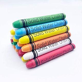 人行道粉笔,*,无粉笔尘,可水洗,儿童人行道粉笔套装,20 支 - 5 种颜色,粉笔城。