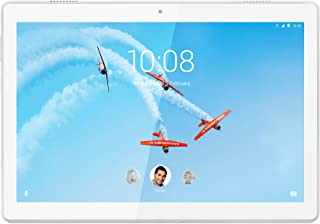 Lenovo 联想 TAB M10 平板电脑,显示屏 10.1 英寸 高清,处理器 Qualcomm 速度达 32 GB 可扩展至 128 GB 内存,WiFi,Android Oreo ,斜纹黑色