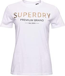 Superdry 极度干燥 女士高级亮片 Entry T 恤