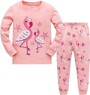 garsumiss 幼兒睡衣男童睡衣套裝兒童恐龍棉質服裝 sleepwears