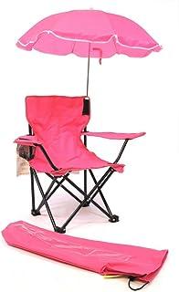 WC Redmon Beach Baby 儿童露营椅,带雨伞 粉红色