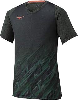 MIZUNO 美津浓 网球羽毛球服 快速速干比赛衫 吸汗速干 72MA1002