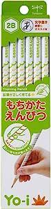 Tombow 蜻蜓 铅笔 Yo-i 柔软 2B 六角轴 右手左手兼用 KE-KY02-2B 1打