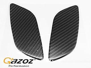 Gazoz 高性能碳贴纸侧标记反光盖适用于 02-03 WRX
