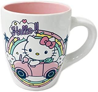 Hello Kitty 彩虹 25 盎司陶瓷马克杯