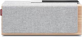 Mediasonic TEANA SOUND 蓝牙音箱,实木结构,20 瓦,增强低音,完美的无线音箱,适用于家庭、办公室、户外和旅行。 (HB22) HB22-GR