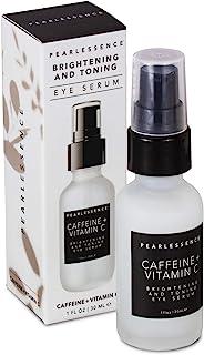 Pearlessence 亮肤及紧肤眼部精华(咖啡因 + 维生素 C),1 盎司