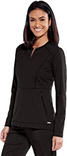 BARCO Grey's Anatomy Impact GIW001 女式 Tempo 4 口袋 26 英寸(约 66 厘米)圆领前拉链磨砂夹克