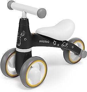skiddoü Laufrad Berit Lernlaufrad Kinderlaufrad Lauflernrad Fahrrad ohne Pedale Dreirad Modernes Design Sichere Konstrukti...