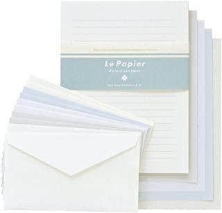 Kewbix 信纸套装 彩色纸5本 白色