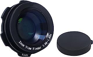 Mcoplus 1.08-1.60 X 变焦查看器眼镜放大镜 - 黑色