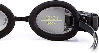 FORM 智能游泳护目眼镜,泳池健身追踪器,适合开放水域和游泳中心,具有透明显示屏,可在游泳时显示指标