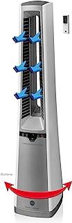 MACOM 996 家用无叶风扇 80 W 银色 - 风扇(银色,80 W,220-240 V,50/60 Hz,AC,220 mm