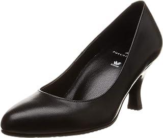 [萨克森沃克] 圆头 浅口皮鞋7cm脚围D~EE 山羊皮 女式 WFN760