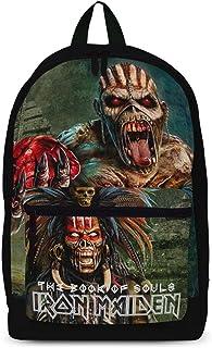 Iron Maiden Maiden 灵魂书,经典背包,中号,黑色