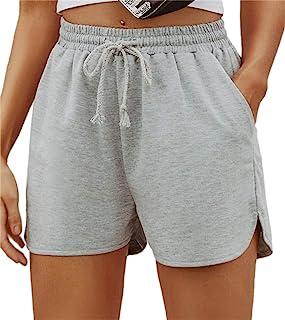Shein 女式基本款弹性腰格纹紧身口袋长裤时尚打底裤