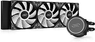 Deepcool GAMMAXXL360 A-RGB 简易水冷CPU散热器 搭载ARGB风扇 360毫米 DP-H12CF-GL360-ARGB FN1539