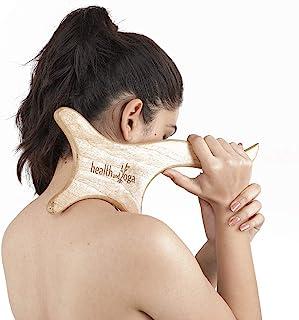 木质 Gua Sha 按摩工具 - 肌肉粘附和*团处理 - 软组织修复和*痕恢复 - 全身*和压力缓解