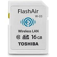 TOSHIBA 东芝 FlashAir wireless (WIFI卡) 16GB SDHC存储卡(新老包装随机发货)