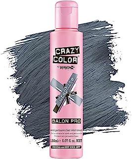 Crazy Color *剂 - 纯素和无残忍的半永久*剂 - 用于预亮或金发的临时* - 无需过氧化物或显影剂(蜡)