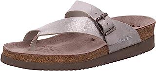Mephisto Helen Venise 女士银色皮革拖鞋 42 (EUR) 12(US)