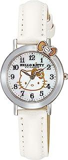 [シチズン Q&Q] 腕時計 アナログ ハローキティ 防水 革ベルト VW23 レディース