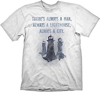 Bioshock T 恤灯塔宇宙,M 码
