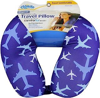 Cloudz 图案微珠旅行颈枕 - 飞机