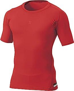 ZETT 棒球 PROSTATUS 物理控制服 少年用 圆领 短袖 汗衫 BPRO100CJ