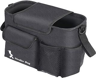婴儿车包,可拆卸单肩包,婴儿车配件包,适用于 Bugaboo,婴儿推车,宠物推车,轮椅,三轮车