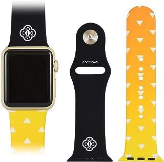 Gourmandise 万代 鬼灭之刃 Apple Watch 38/40毫米 对应表带 我妻 善逸 KMY-18B