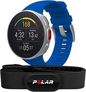 Polar Vantage V – 优质 GPS 多运动手表,适用于多种运动和铁人三项训练(心率监测,运行电源,防水)