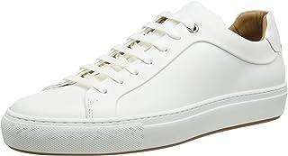 HUGO BOSS Mirage_Tenn_bu 男士 低帮运动鞋,白色(白色 100),7 UK