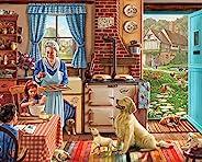 White Mountain 拼图家庭甜蜜之家—1000 块装儿童*拼图