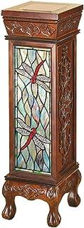 Design Toscano PP11091 Dragonfly Illuminated Pedestal