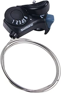 自行车移位器,右拇指齿轮移位器 SL-TX30-6R, 6 速自行车换档杆,适用于山地城市公路折叠自行车