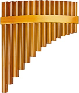 15 管棕色平底锅长笛 G 键中国传统乐器平底管木管乐器(右手)