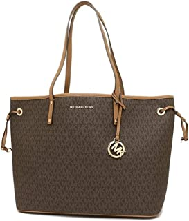 Michael Kors Jet Set Travel Large Drawstring Tote Signature