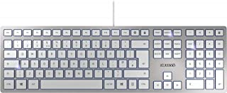 Cherry KC 6000 超薄键盘,银色