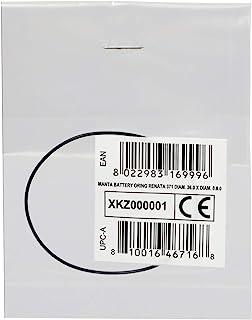 Cressi 中性成人 Manta Battery Oring Renata 371 36.0 X Diam。0.8.0 O 型环手表表壳底部,黑色,Ø36.0 X Ø0.8.0