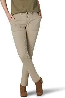 Lee 女士传奇常规版型锥形实用裤