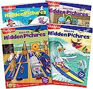 Highlights Hidden Pictures Eagle Eye 4 本书套装