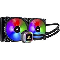 CORSAIR Hydro 系列液体 CPU 冷却器高级 RGB 照明和风扇软件控制CW-9060038-WW RGB…