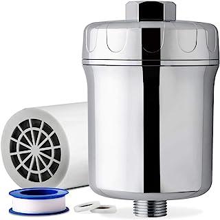iSpring #SF1W 时尚 5 层淋浴过滤器,去除氯、铅、汞、VOC 和 200 多种污染物 银色 SF1S