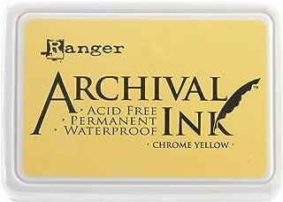 Ranger Archival 印泥 #0-铬,黄色