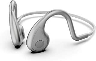 Vocalskull 骨传导游戏耳机开放式无线耳机蓝牙降噪带存储卡(灰色)