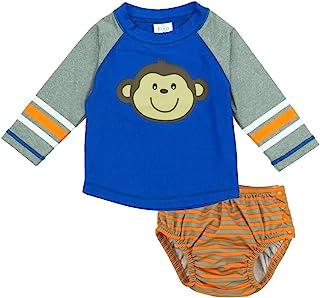 KIKO & MAX 男婴猴子泳装*服和游泳尿裤