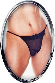 California Exotic Novelties Sexy Little Panty Collection Totally Crotchless Thong, X-Small/Small, Black