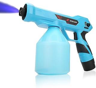KOHAM 纳米喷雾枪手持可充电纳米喷雾器 34 盎司/1000 毫升超大容量电动喷雾器喷嘴可调节慢跑器适用于家庭、办公室、学校、汽车、花园